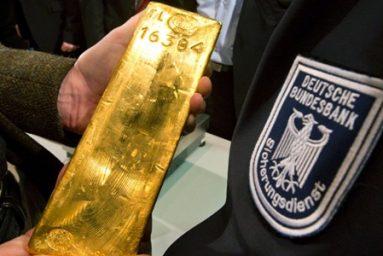 Sau Đại chiến Thế giới II, Đức bắt đầu dự trữ vàng