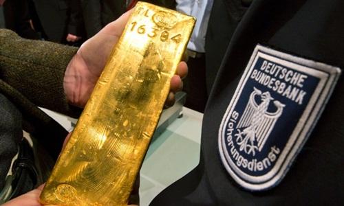 740 tấn vàng đã được chuyển về nước Đức