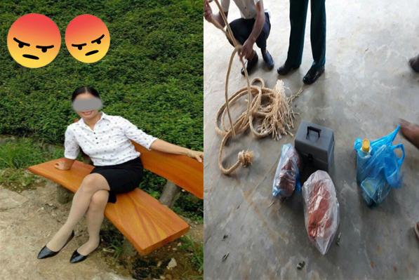 NÓNG: Bà mẹ bắt con uống thuốc diệt cỏ chỉ vì mất 7 nghìn đồng.