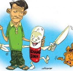 thuốc kháng sinh và vấn đề sức khỏe