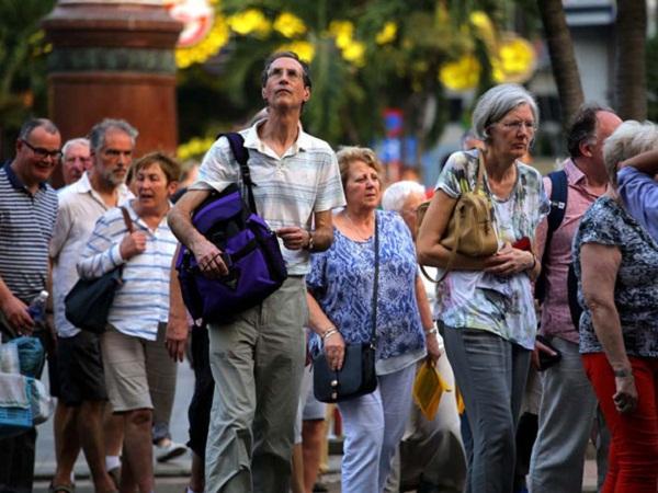 khách du lịch quốc tế