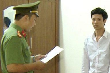 Đối tượng Nguyễn Văn Quang bị khởi tố, bắt tạm giam 114 ngày.