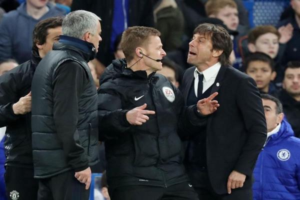 Mourinho và Conte có hiềm khích cá nhân