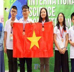 Việt Nam giành 4 Huy chương Vàng tại Cuộc thi Khoa học quốc tế - ISC lần thứ nhất 2018
