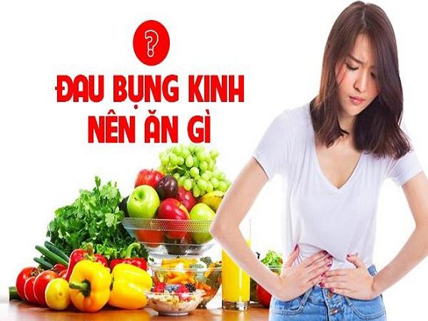 Người bị đau bụng kinh nên ăn gì giúp giảm đau bụng?