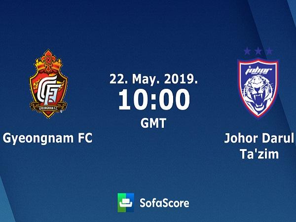 Nhận định Gyeongnam vs Johor DT, 17h00 ngày 22/05