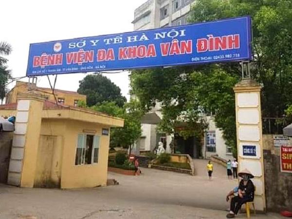 Vụ bệnh nhi tử vong tại Bệnh viện đa khoa Vân Đình