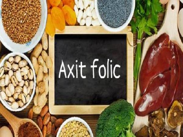 Những thực phẩm chứa axit folic