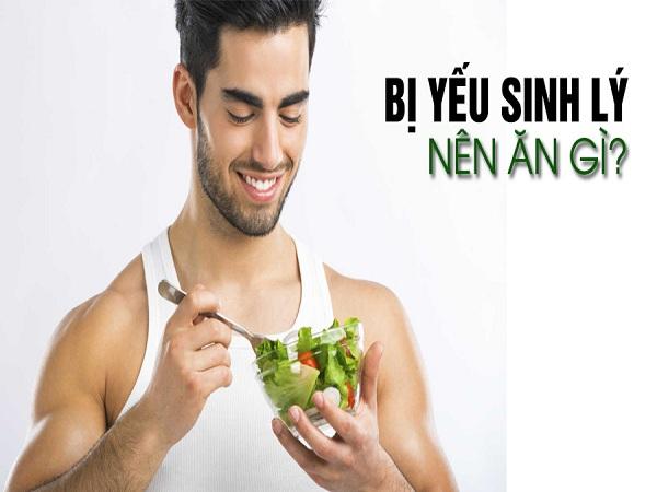 Những thực phẩm tốt cho người yếu sinh lý