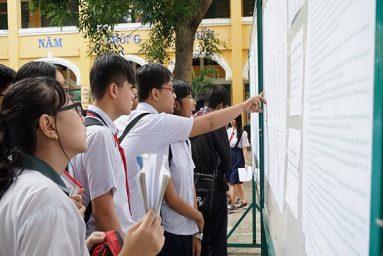 TP.Hồ Chí Minh công bố điểm chuẩn vào lớp 10