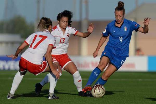 Nhận định trận đấu Nữ Malta vs Nữ Italia thứ 3 ngày 12-11-2019