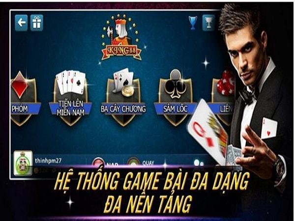 Game bài đổi thẻ cào đổi thẻ không giới hạn tại King88