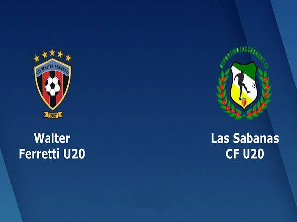 Nhận định Walter Ferretti U20 vs Las Sabanas U20, 2h30 ngày 16/04