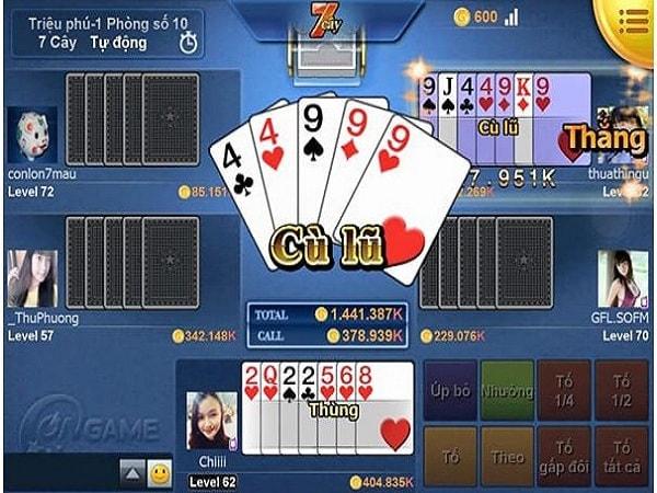 Cách chơi game bài đổi thưởng xì tố
