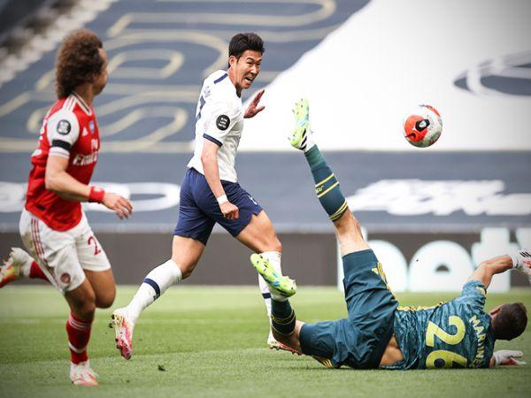 Son tỏa sáng giúp Tottenham ngược dòng hạ Arsenal