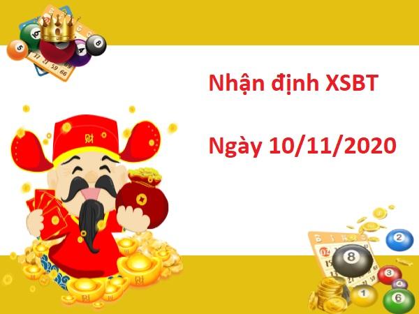 Nhận định XSBTR 10/11/2020