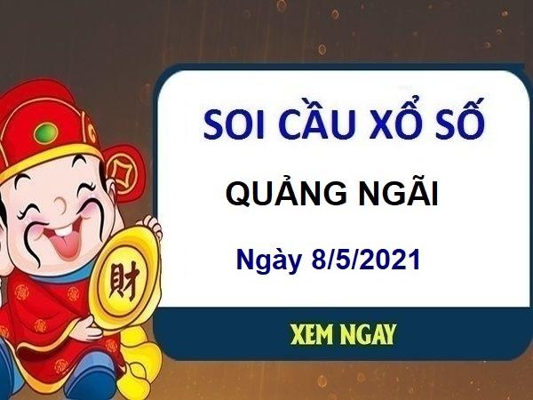 Soi cầu XSQNG ngày 8/5/2021