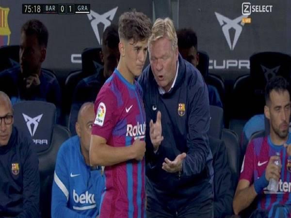 Tin Barca 21/9: HLV Koeman chia sẻ sau trận hòa Granada